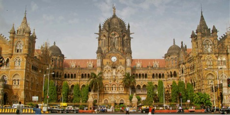 Chhatrapati Shivaji Terminus building in Mumbai in india one of the must see and must visit place