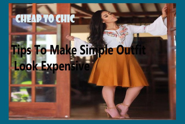 6abd55736f Simple Clothes Look Expensive & Fashionable How To Do   Going In Trends