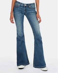 Low rise Flare Jeans