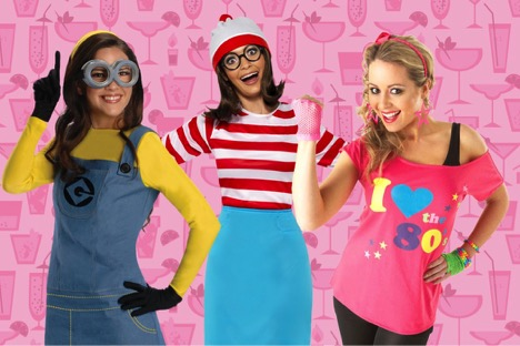 party themes for adults dress up
