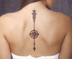 Back Tattoo for Women
